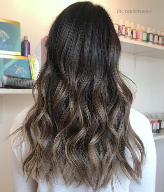 How to tone blonde highlights in brown hair