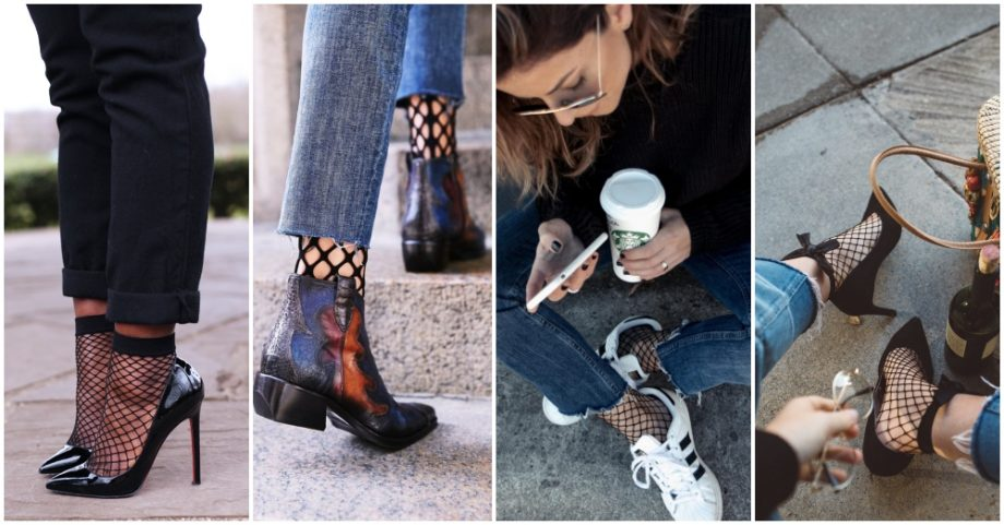 How To Wear Fishnet Socks Like A Blogger