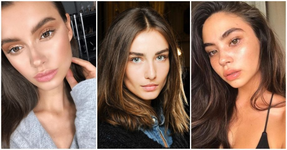 How To Look Beautiful With No Makeup On