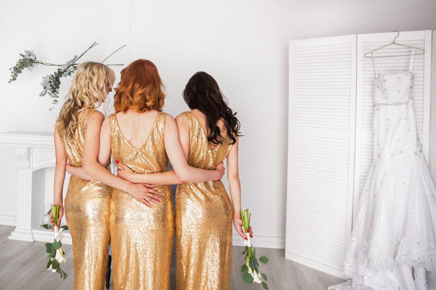 Our Favorite Sequin Bridesmaid Dresses for Your Wedding