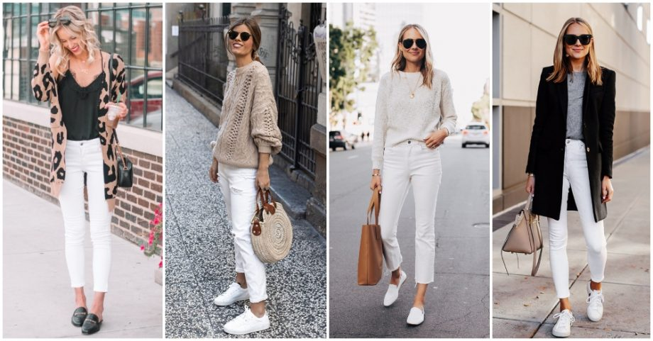 Complete Guide To Create An Outfit With White Jeans