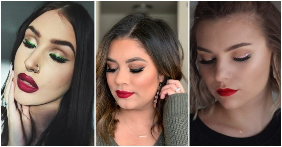 Christmas Makeup Looks That We Are So Obsessed With