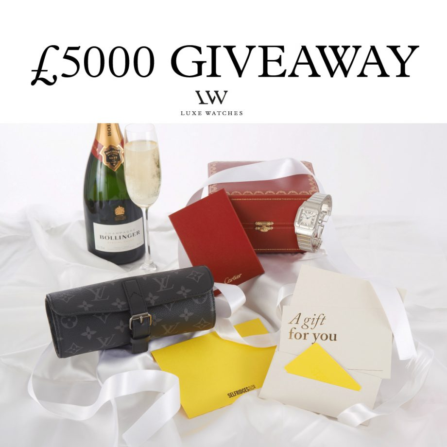 £5,000 prizes up for grabs from leading luxury watch dealer